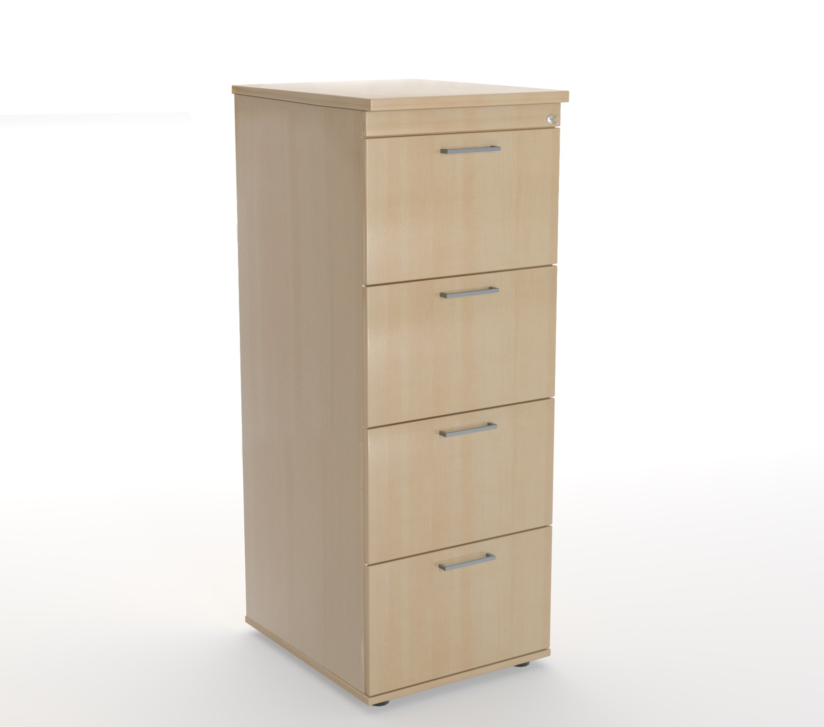 4 drawer filing cabinet pex647 steelco for Cupboard and drawers